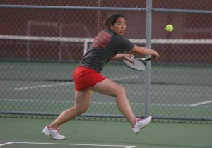 Crown Point wins 20th straight sectional girls tennis title