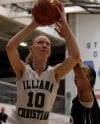 Illiana Christian rolls past Washington in regional girls basketball action