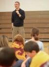 Westchester Intermediate School students learn from local poet