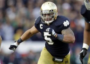 Te'o leads Irish defense, key to perfect season