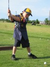 Scouts go 'fore' golf