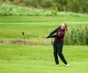 Crown Point wins DAC girls golf tournament title