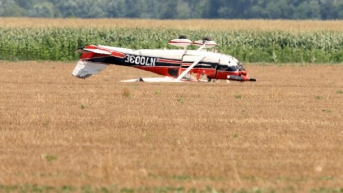 Single engine plane flips during emergency landing near for Laporte county state of emergency