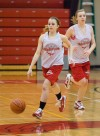 Hebron junior guard Christy Reick