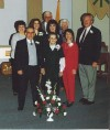Steve and Joann Scamerhorn 25th Wedding Anniversary with Family January 1994