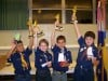 Cub Scouts race in regatta
