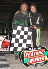 Son and father win at Illiana Motor Speedway