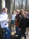 Discovery Charter School fourth graders study pioneer life