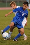 Lake Central junior Manuel Rios