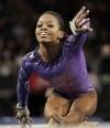 Gabrielle Douglas, competing
