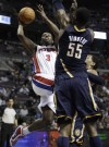 Prince-led Pistons beat Pacers in overtime