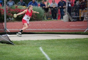 Rensselaer's Meeks makes it back-to-back runner-up finishes in discus