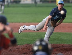 Sam Geraci pitches Chargers past Beecher in conference win