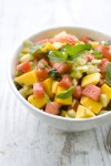 Sweet and heat: The savory side of fruit salads
