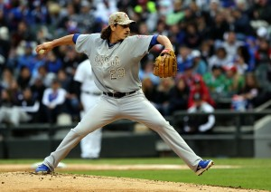 Boosted by Cubs outburst, Samardzija stops White Sox with 2-hitter