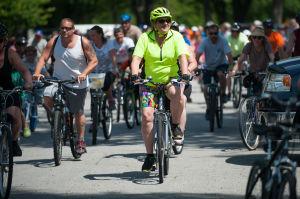 Bikers take tour of Highland