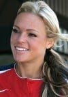 Softball player Jennie Finch