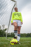 Hobart�s Ashley Henningfield is getting back to her soccer scoring self