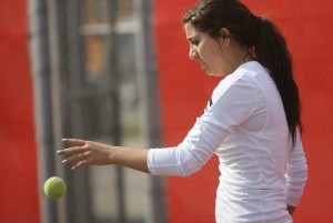 Portage's Haupt rises to No. 1 singles