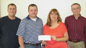 Donation to assist low-income families