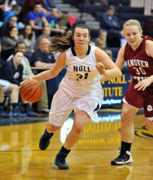 Noll holds GSSC girls hoops lead with win over Hanover Central