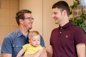 Historic day in Indiana: Wedding bells ring for same-sex couples