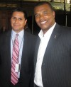 Lou Hernandez and Kenny Williams