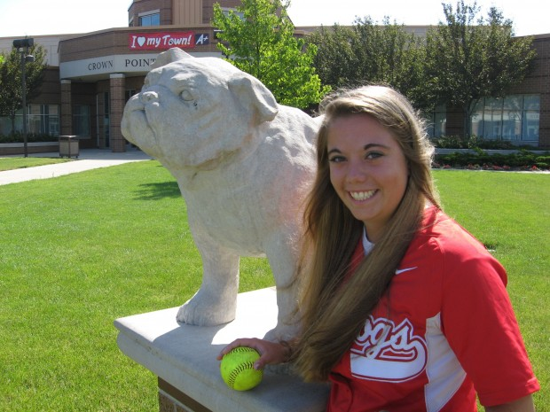 C.P.'s Jenks happy for one last day at the softball field : Preps