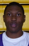 T.F. North boys basketball player Sylvester Tolliver