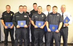 Medics honored for relief efforts