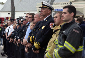 Schererville ceremony remembers 9/11 heroes