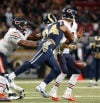 Bears' defense run through again in loss to Rams