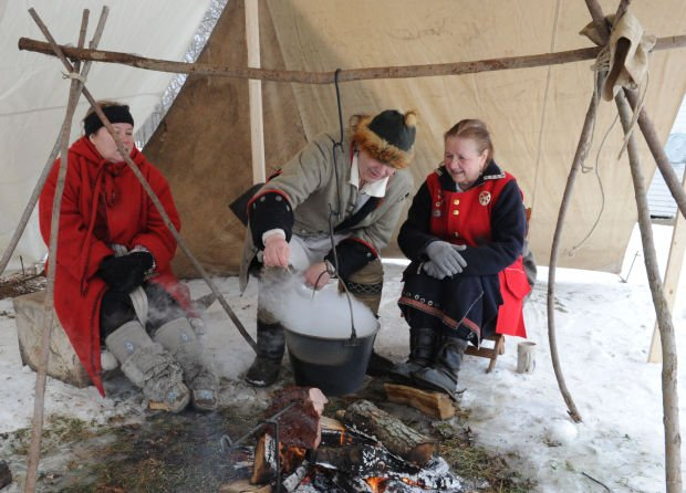 Buckley Homestead visitors get taste of the past at maple sugar demonstrations