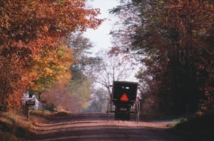 Northern Indiana's Amish Country, just two hours and another century away
