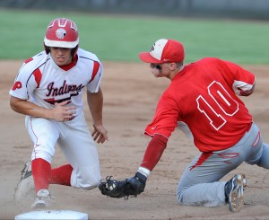 Jones pitches Portage to first sectional baseball title since 1995