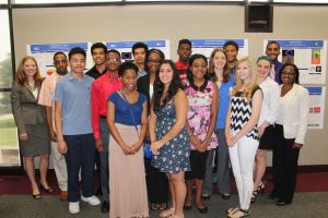 High school students participate in PSC Summer Science and Math Camp