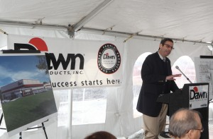 Dawn Foods breaks ground