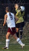 Lowell plays H.C. in girls soccer sectional