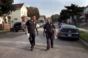 East Chicago police put their ears (and feet) to the pavement
