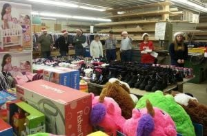 Santa and His Elves provide Christmas for 1,720 children
