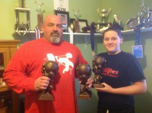 Bill and Meagen Taylor set standards at powerlifting meet