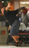 Bob Kammer Jr. bowls Saturday during the qualifying round for the 65th annual Times/Pepsi Classic at Olympia Lanes in Hammond.