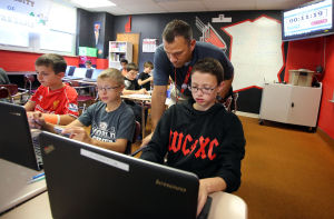 Willowcreek Middle School Braves flip over language arts