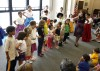 Ballet Folklorio performs at Valparaiso library