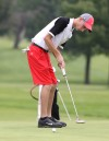 Lowell's Kyle Snyder putts