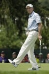 Jim Furyk, Adam Scott atop leaderboard at stormy PGA Championship