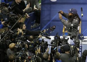 Richard Sherman is downright charming on media day