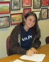 Munster's No. 1 singles player Heuer earns scholarship to VU