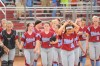 Hanover Central's softball team at semistate