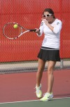 Portage No. 1 junior Mandy Haupt